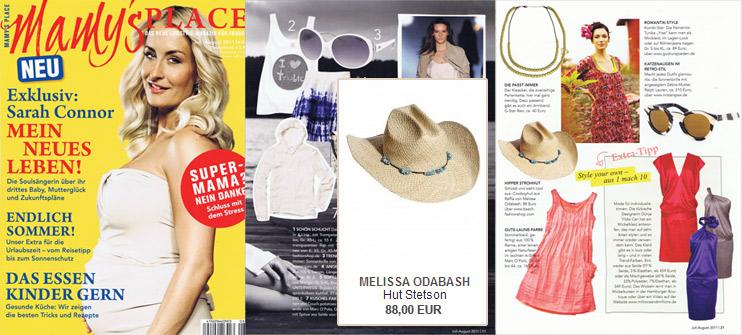 Ein Hut von Melissa Odabash ist ein unverzichtbares Accessoire - auch für Mamis