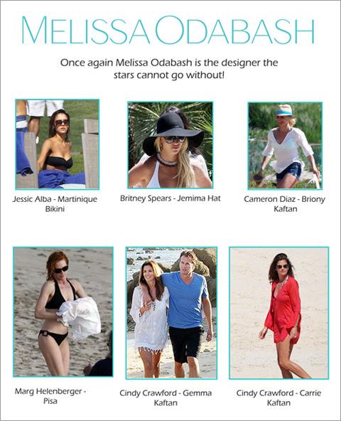 Designerin Melissa Odabash hat, was die Stars wollen...