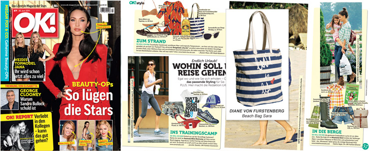 Vom Ok-Bag zum It-Bag: Beach Bag von Diane von Furstenberg
