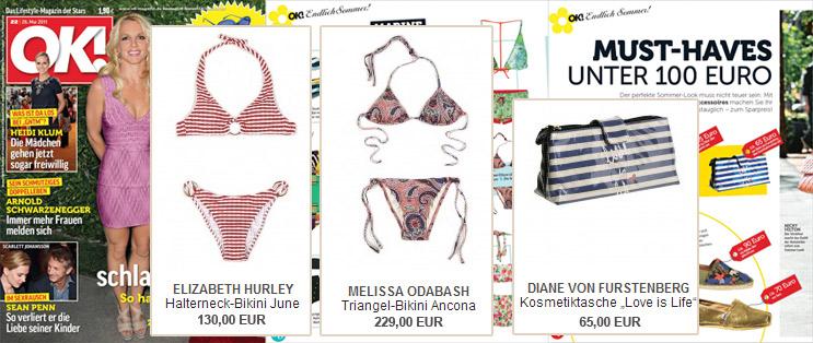 Melissa Odabash y Diane von Furstenberg buen descubrimiento en Ok! más que ok