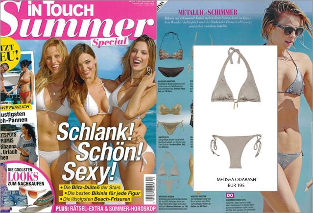 Bikini brillante de Melissa Odabash: ahora en la Touch Summer