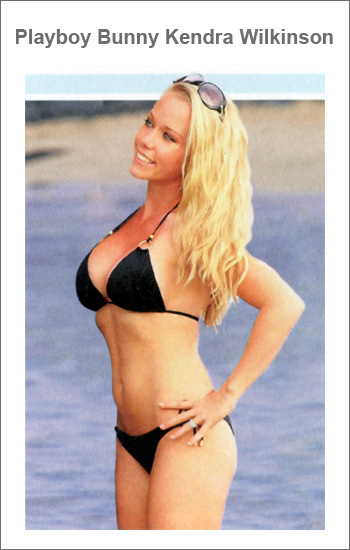 Dream curves thanks to vitamins: Kendra Wilkinson in a bikini by Vitamin A
