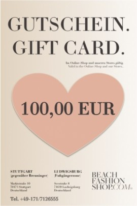 Geschenkgutschein ab 100,00 EUR