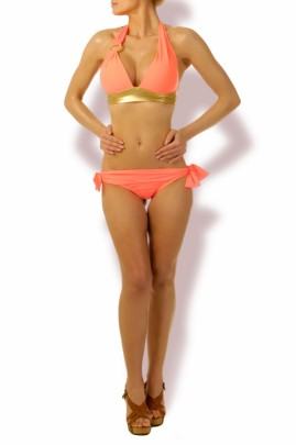Happy Holiday – Push up Triangel Bikini Coralle
