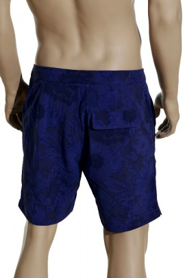 Shorts Blue Flowers