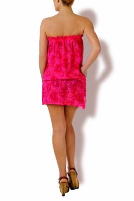 Bandeau Mini-Kleid
