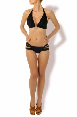 Glamour Triangel Push up Bikini Black Beauty