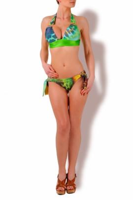 Glam Appeal - Triangel Push up Bikini Print