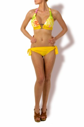 Happy Holiday – Push up Triangel Bikini Flower & Style