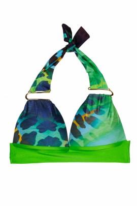 Fabulous - Triangel Push up Bikini Print