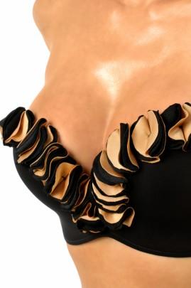 Luxury - Push up Bandeau Bikini Mabella