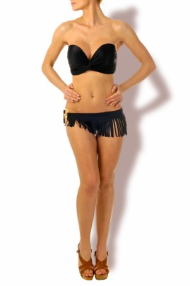 Hot Look – Push up Bandeau Bikini Swinging