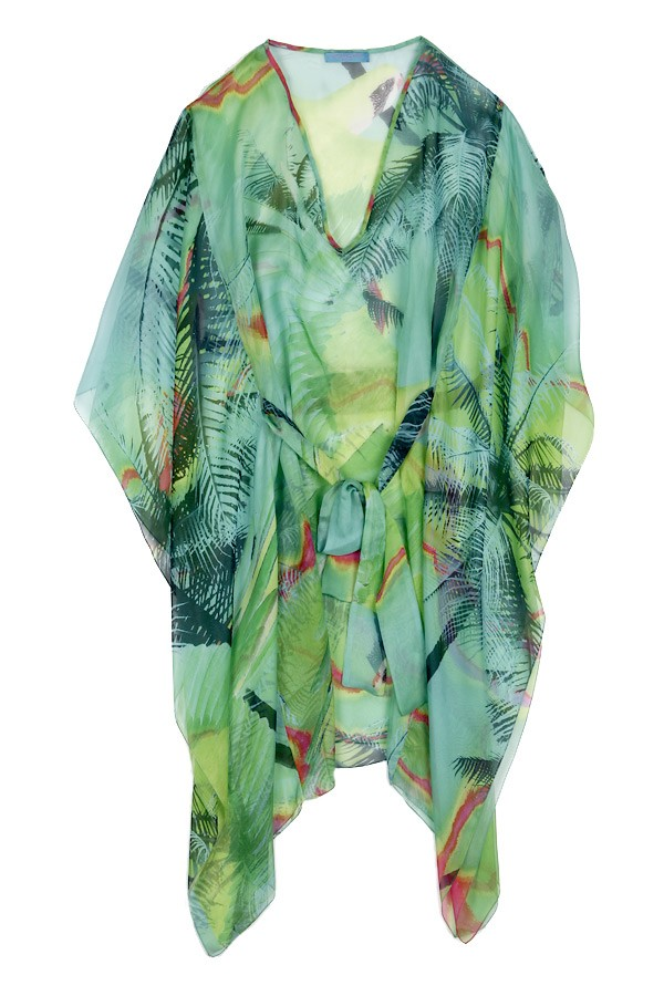 Seiden-Kaftan Palm-Beach