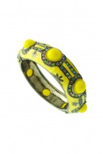 Brazalete Bangle en color amarillo