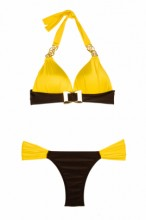 Luxury – Citric Push up Triangel Bikini