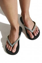 Thong sandal Turquoise Stones
