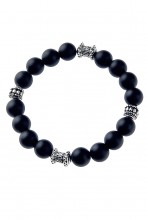 Armband mit Onyx-Perlen