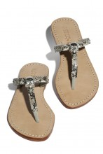 Sandals Skull with snake print