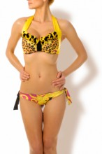 Glam Appeal - Push up Bandeau Bikini