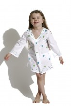 White Kids Caftan