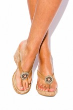 Wedges sandals Coral Glamour