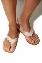 Sandals in elegant nude shade