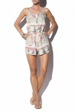 Short Jumpsuit Globetrotter