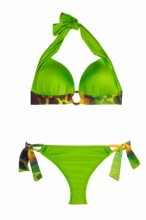 Magic Green Triangel Push up Bikini