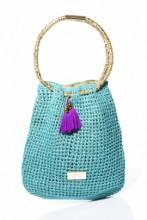 Turquoise Tote Beach Bag
