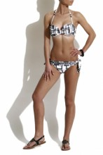 Bandeau Bikini Art