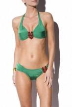 Halterneck Bikini Green Glamour