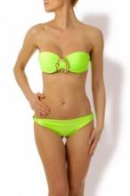Glam Appeal - Bügel-Bandeau Bikini Glammy Green