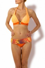 Wonderful – Triangel Push up Bikini hot orange