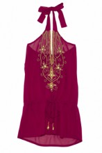 Beach Dress Fuchsia Fusion