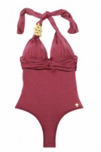 Elegant Swimsuit Grape