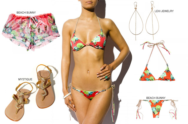 Print Summer Outfit by Beach Bunny