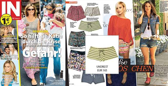 Shorts by Undrest - Seen in IN magazine