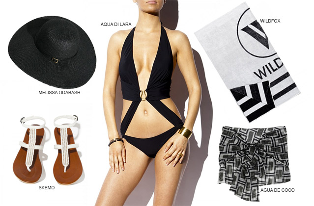 Poolside chic: radiate glamour by the pool