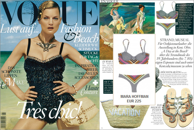 As seen in Vogue - Bikini by Mara Hoffman