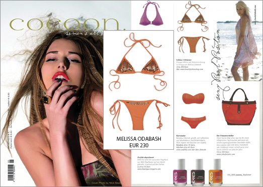 Der Bikini von Melissa Odabash ist das Highlight in der aktuellen Cocoon-Ausgabe