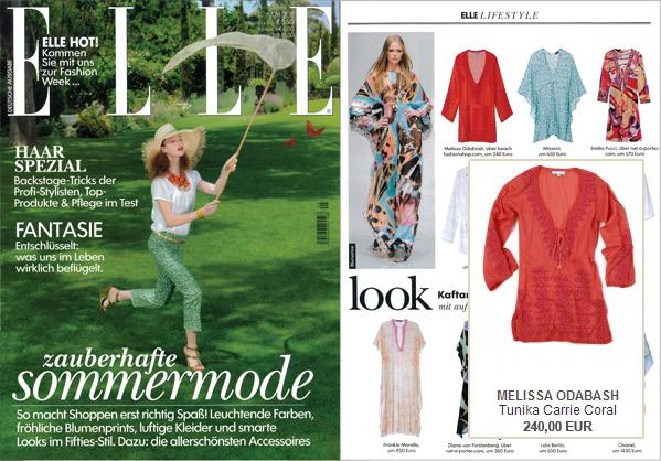 Lifestyle mit Style: Den gibt es mit einer Tunika von Melissa Odabash