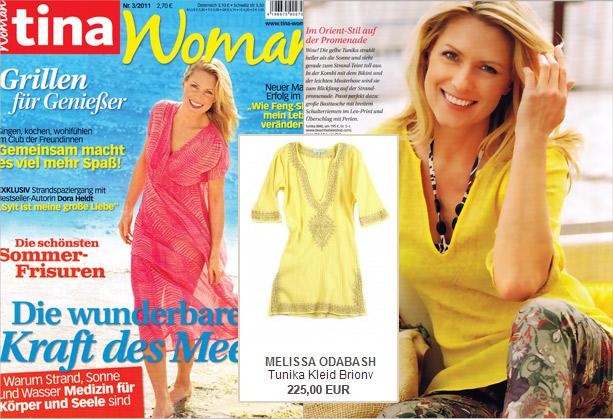 Orient & Glamour: Das vereint die Tunika von Melissa Odabash