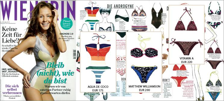 Die perfekte Beachwear für jeden Frauentyp gibt's in der Wienerin und bei uns!