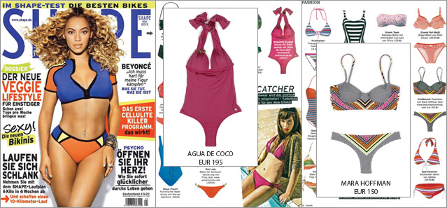 Get in Shape: the Décolleté Magic by Agua de Coco and Art-Master by Mara Hoffman