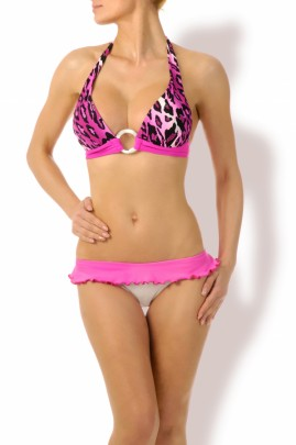 Sweet & sexy - Volants Push up Triangel Bikini