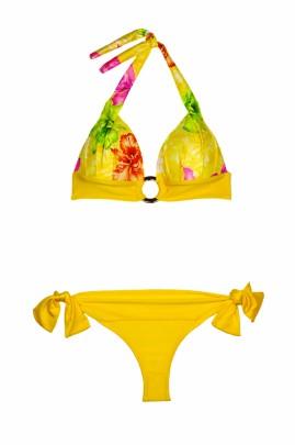 Happy Holiday – Push up Triangel Bikini Flower & Style