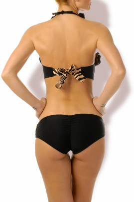Luxury - Push up Bandeau Bikini Malibu