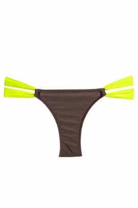 Criss Cross Double Colour Bikini
