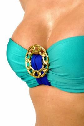 Glam Appeal - Bügel Bandeau Bikini glam