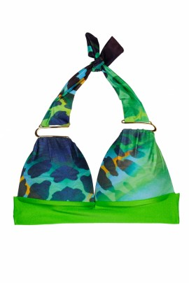 Glam Appeal - Triangel Push up Bikini Print